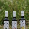 Vitùlia collection of flavoured extra virgin olive oils. 3 bottles. garlic, lemon and rosemary