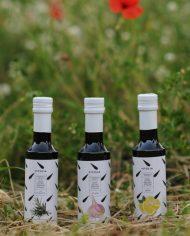 vitulia 3 bottiglie aromatizzati aglio limone e rosmarino
