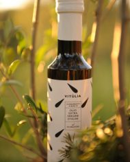 Flavoured extra virgin olive oil with rosemary