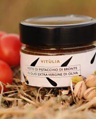 vitùlia luxury food pistachios pesto sauce from Sicily