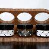 "Vitùlia gift ideas "" Panarea"". A fancy box with pistachio pesto sauce, orange marmalade and dried tomatoes paste. Italian food excellences home made. #vituliapanarea#vituliafgiftideas#vituliamarmalades#vituliapistachio"