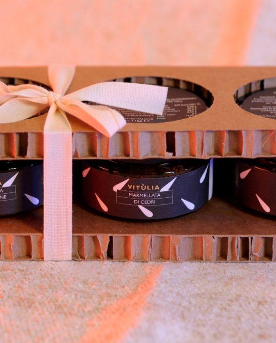 Gift box Vitùlia marmalades. #vituliagiftideas#vituliamarmalades
